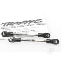 Turnbuckles, toe link, 59mm (78mm center to center) (2 pcs) (assembled with rod ends and hollow balls)