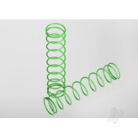 Springs, rear (green) (2pcs)