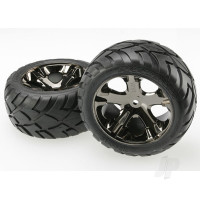 All-Star black-chrome wheels (Pair)