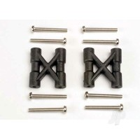 Bulkhead cross braces (2pcs) / 3x25mm CS screws (8pcs)