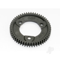 Spur gear, 54-tooth (0.8 metric pitch, compatible with 32-pitch) (requires #6814 center differential)