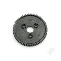 Spur 65-tooth (0.8 metric pitch, compatible with 32-pitch)