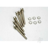 Screws, 3x28mm cap-head machine (hex drive) (6pcs) / 3x6mm ELW (6pcs)