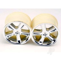 Sport Wheels, Maxx (mirror chrome finish) (2pcs)