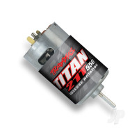 Titan 550 Brushed Motor, Reverse Rotation (21-Turn / 14 volts)