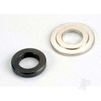 Bearing spacers, clutch bell 5x8.5x1.75mm (1pc) / 5x11x1.1mm (1pc)