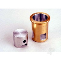 Cylinder sleeve / piston ( with oil ring ) (matched set)