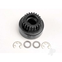 Clutch bell, (22-tooth) / 5x8x0.5mm fiber washer (2pcs) / 5mm E-clip (requires #4611-ball bearings, 5x11x4mm (2pcs))