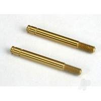 Shock shafts, hardened steel, titanium nitride coated (29mm) (front) (2pcs)