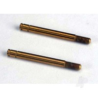 Shock shafts, hardened steel, titanium nitride coated (32mm) (2pcs)