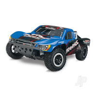 Blue Nitro Slash 1:10 Nitro-Powered 2WD Short Course Racing Truck (+ TQi, TSM)