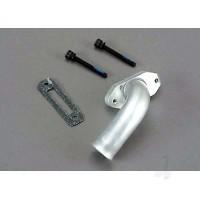 Exhaust header with gasket & screws