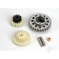 Gear set / gear shafts
