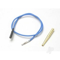 Lead wire, glow plug (blue) (EZ-Start and EZ-Start 2) / molex pin extractor (use where glow plug wire does not have bullet connector)