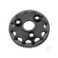 Spur gear, 76-tooth (48-pitch) (for models with Torque-Control slipper clutch)