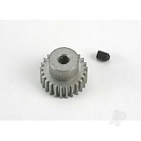 Gear, pinion (25-tooth) (48-pitch) / set screw