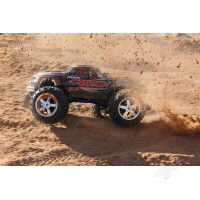 Black T-Maxx 3.3 1:10 Nitro-Powered 4WD Maxx Monster Truck (+ TQi, Wireless Module, TSM)