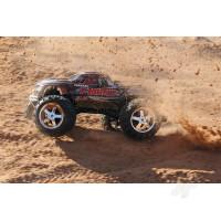 Black T-Maxx 3.3 1:10 Nitro-Powered 4WD Maxx Monster Truck (+ TQi, Wireless Module, TSM)