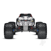 White T-Maxx 3.3 1:10 Nitro-Powered 4WD Maxx Monster Truck (+ TQi, Wireless Module, TSM)