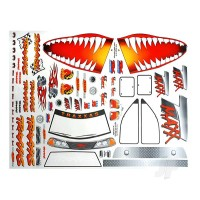 Decal sheet, Jaws T-Maxx