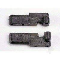 Servo mounts, steering / shift (front& rear) (black)