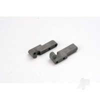 Servo mounts, steering / shift (front& rear) (grey)