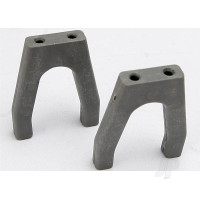 Servo mounts, throttle / brake (1pc) (grey)