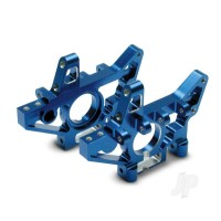 Bulkheads, rear (machined 6061-T6 aluminium) (blue) (left & right) (requires use of 4939X suspension pins)