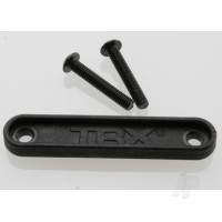 Tie bar, rear (1pc) / 3x18mm BCS (2pcs) (fits all Maxx trucks)