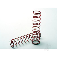 Springs, red (for Ultra shocks only) (2.5 rate) (front & rear) (2pcs)