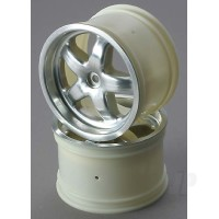 Wheels, satin finished 3.2in (2pcs)