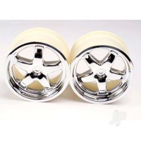 Wheels, T-Maxx (chrome) (2pcs)
