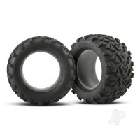 Tires, Maxx 3.8in (6.3in outer diameter (160mm)) (2pcs) (fits Revo / Maxx series)