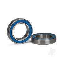 Ball bearing, Blue rubber sealed (15x24x5mm) (2 pcs)