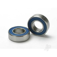 Ball bearings, Blue rubber sealed (8x16x5mm) (2 pcs)