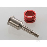Stub axle, (1pc) / axle sleeve (1pc) Revo / Maxx (steel constant-velocity driveshaft)