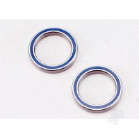 Ball bearings, blue rubber sealed (20x27x4mm) (2pcs)