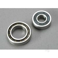 Ball bearings, 7x17x5mm (1pc) / 12x21x5mm (1pc) (TRX 3.3, 2.5R, 2.5 engine bearings)