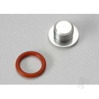 End cap, carburetor body / 6.2x1.2mm O-ring / (1-each) (TRX 2.5, 2.5R)