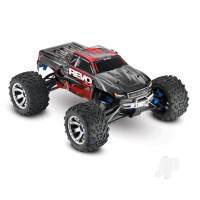 Red Revo 3.3 1:10 4X4 Nitro Monster Truck (+ TQi, TSM, Wireless Module, Telemetry, TRX3.3, DC Charger)
