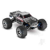 Silver Revo 3.3 1:10 4X4 Nitro Monster Truck (+ TQi, TSM, Wireless Module, Telemetry, TRX3.3, DC Charger)