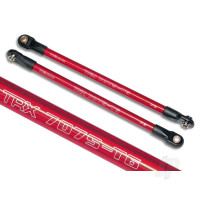 Push rod (Aluminium) (assembled with rod ends) (2pcs) (red) (use with #5359 progressive 3 rockers)
