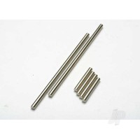 Suspension pin set (front or rear, hardened steel), 3x20mm (4pcs), 3x40mm (2pcs))