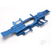 Chassis, Revo 3.3 (extended 30mm) (3mm 6061-T6 aluminium) (anodized blue)