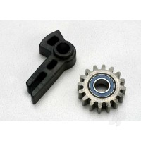 Gear, idler / idler gear support / bearing (pressed in)
