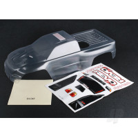 Body, Revo 3.3 (clear, requires painting) / window, lights, grille decal sheet