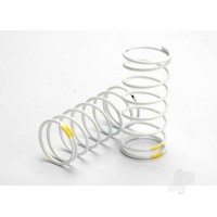 Spring, shock (white) (GTR) (front 0.7 yellow) (1 pair)