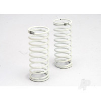 Spring, shock (white) (GTR) (rear) (1.2 rate silver) (1 pair)