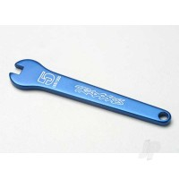 Flat wrench, 5mm (Blue-anodized aluminium)