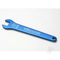 Flat wrench, 8mm (blue-anodized aluminium)